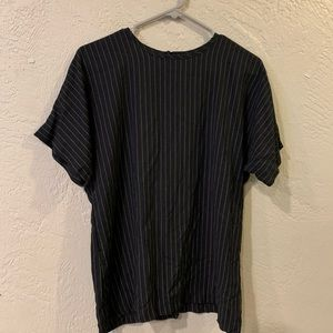 Black and white stripe top (vintage)